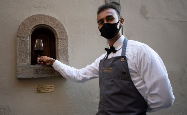 How covid-19 revived Italy's wine window tradition