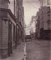 | Rue de la Bûcherie, du cul de sac Saint-Ambroise (fifth arrondissement) 1866-1868 |