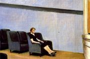 | Intermission, 1963, by Edward Hopper |
