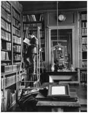 | Academie Francaise, Paris (man on a ladder reading), 1929 |