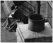 | New York (nun reading near chimney), 1963 |