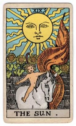 Saulės taro korta