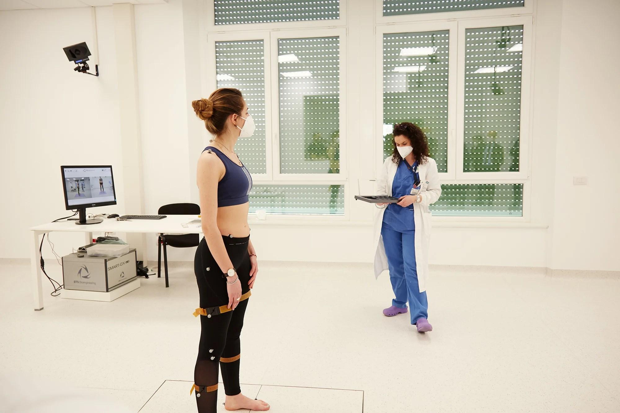Inizio delle attività all'interno del laboratorio di misura e di analisi del movimento