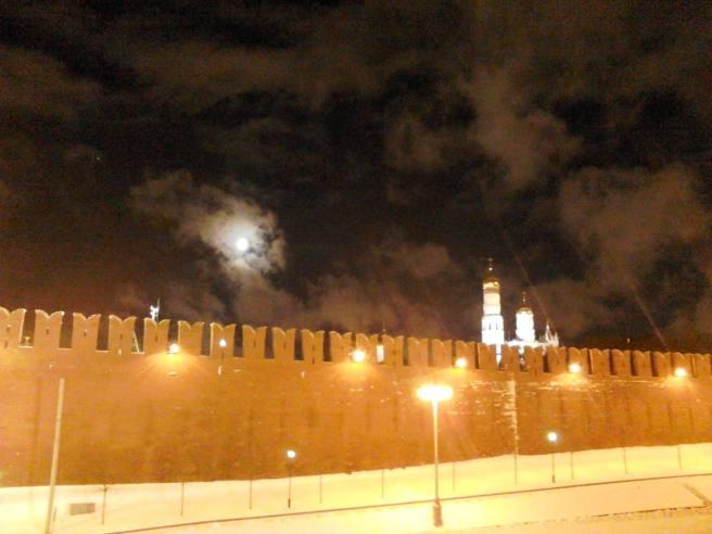 23.02.2016. Луна над Кремлем