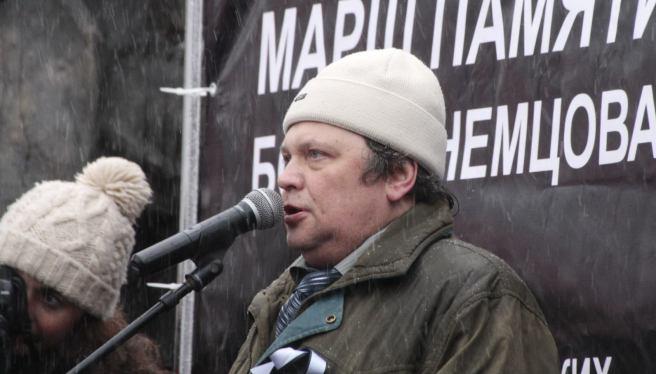 Митинг. Стас Дмитриевский / Фотографии — Илья Мясковский
