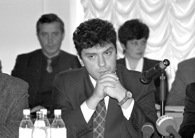 Борис Немцов. Ярославль, октябрь, 1997 год