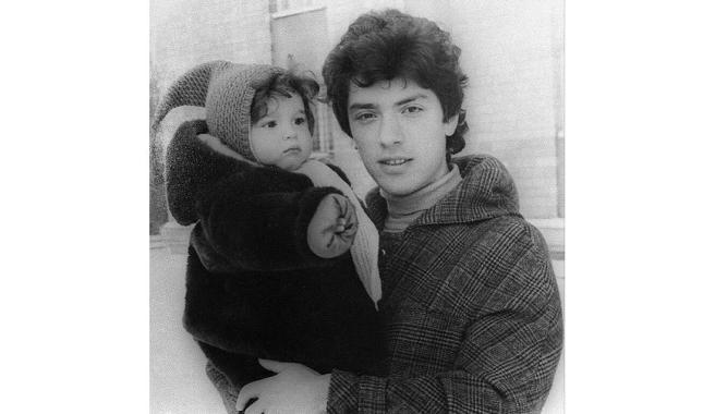 Фото: Алексей Венедиктов / @aavst Борис Немцов с дочерью Жанной, середина 1980-х годов
