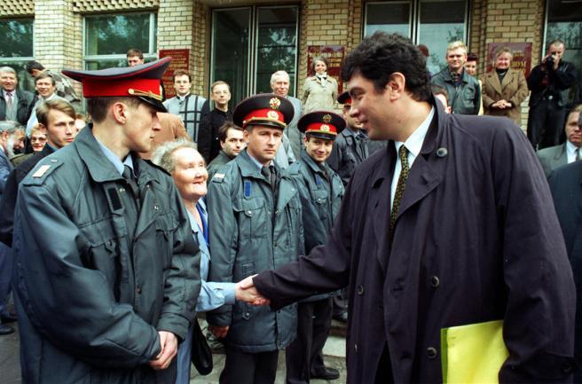 Фото: Николай Никитин / ТАСС / Scanpix Первый вице-премьер правительства России Борис Немцов во время рабочей поездки в Самару, 28-29 мая 1997 года