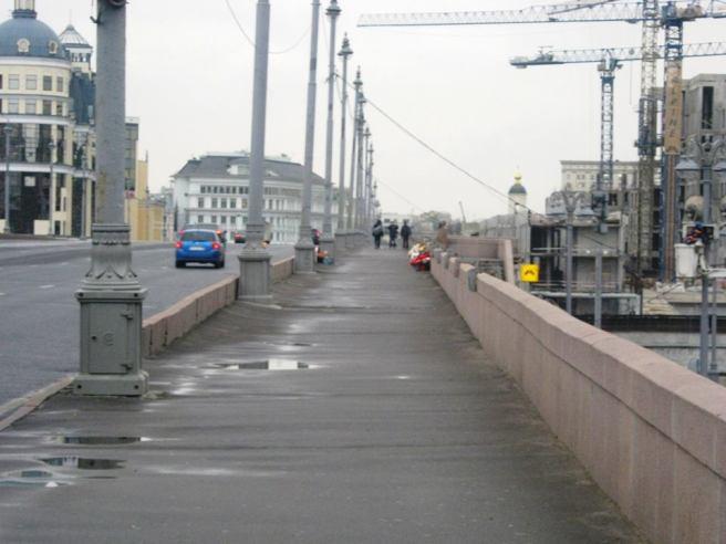20.10.2016. Немцов мост. Мемориал