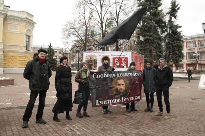 Анархисты стояли вместе с нами наглядным уроком тем согражданам, которые не понимают, что не все «левые» молятся на Джугашвили