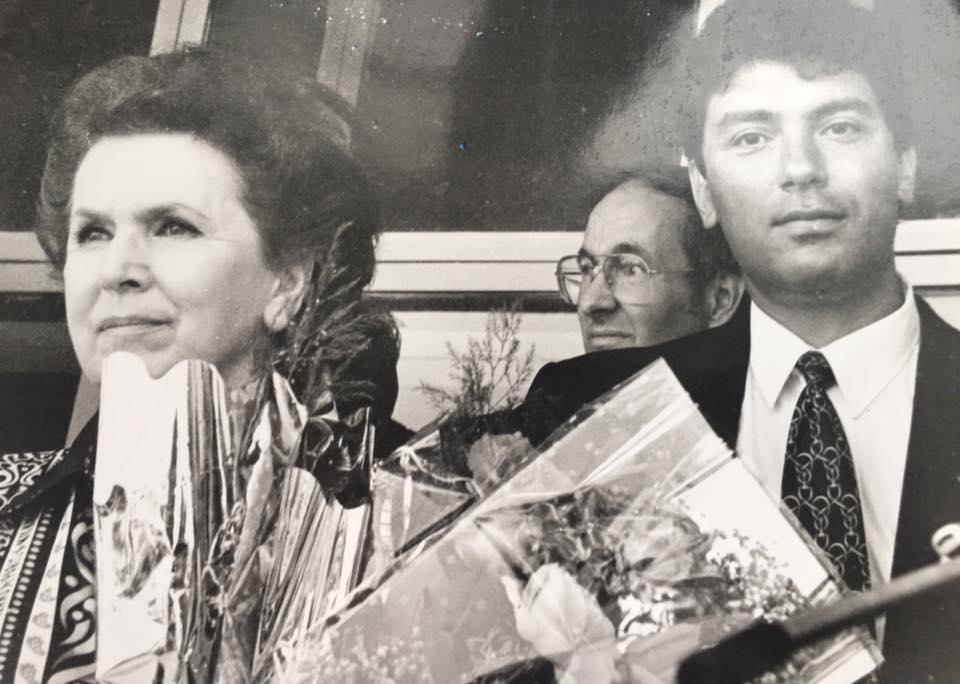 Галина Вишневская и Борис Немцов. — Владимир Ионов