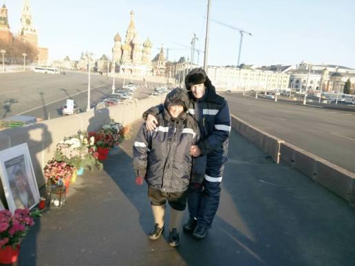 Дневные дежурные Марина и Татьяна и утренний Виктор