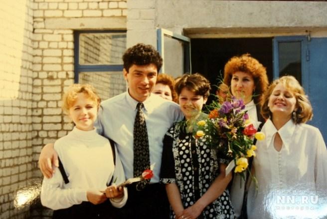 С учителями на дне учителя. Фото: из архива Александра Котюсова