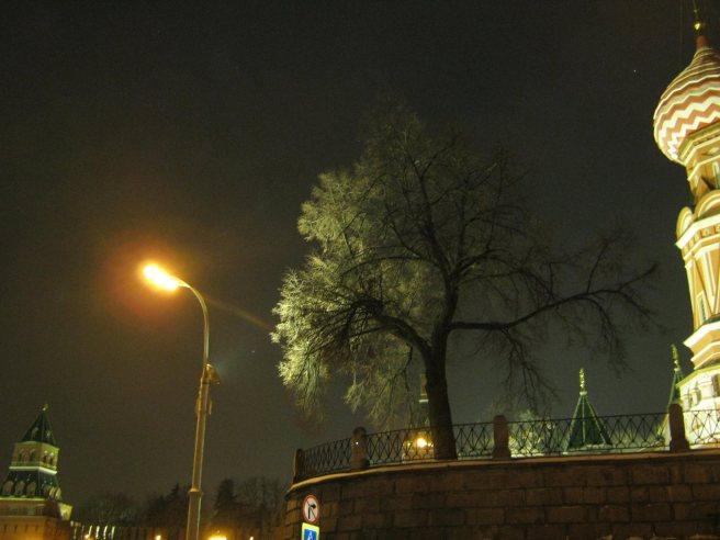 04.02.2017. Утреннее дежурство на мосту Немцова. Путь на мост