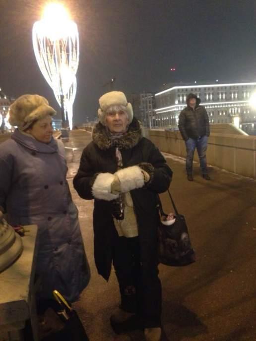 На мемориале Бориса Немцова 24.01.18. Фотографии — Набатова Ирина