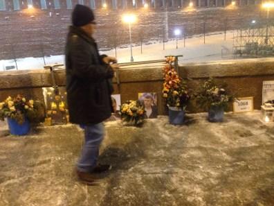 30.01.2018. Немцов мост. вечер. Фотографии — Тамара Луговых