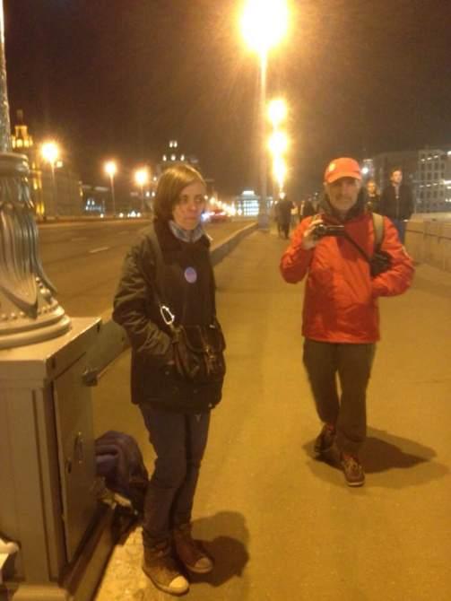 Смена караула: Мария Рябикова и Виктор Коган Фотография — Набатова Ирина