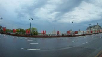 05.05.2018 Ночное дежурство на Мосту Немцова Рассвет