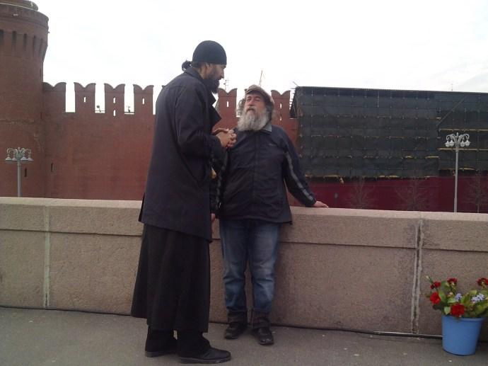 01.05.2018 1 мая. Горячая дискуссия Гриши с афонским священником