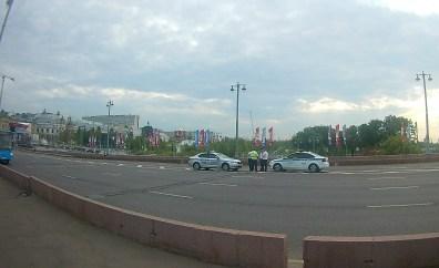 30.06.2018 Ночное дежурство на Мосту Немцова ДПС на Мосту