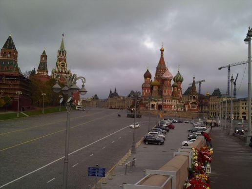 27.10.2018 Утреннее дежурство на Мосту Немцова