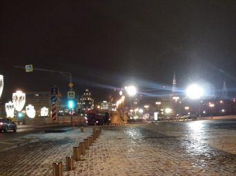 21.12.2018 Дежурство на мосту Немцова Мост вдалеке...