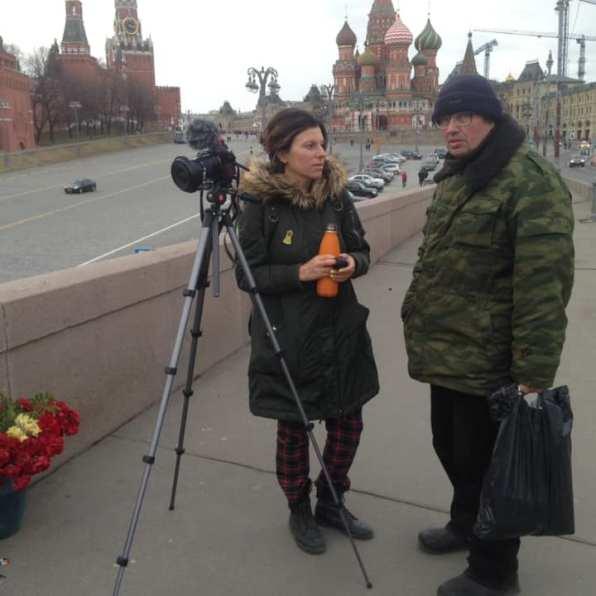 Журналистка Наталья с Сашей Казаковым Фотографии — Тамара Луговых