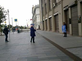 22.09.2019 Пикет у администрации президента Фотографии — Карина Старостина