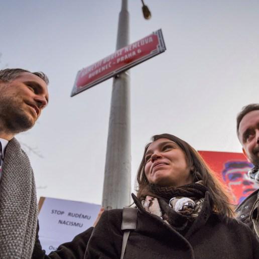 2.Praha má ode dneška nové náměstí Borise Němcova