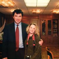 Борис Немцов и Хайди Холлинджер