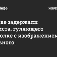 Гражданина, гуляющего в футболке с изображением Навального, задержали. Отпустили. Ч. 5 ст. 20.2 КоАП