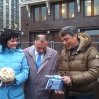 1 декабря. Немцов в пикете