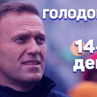 Навальный. Голодовка. 14-й день
