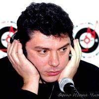 Немцов с Саратове. Встреча с журналистами