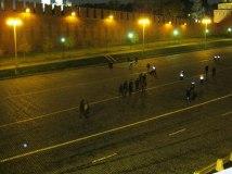 27.10.2016. Немцов мост. Военные. Подготовка к очередному празденству