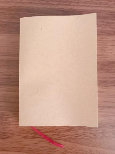 ダイソー文庫本サイズノート