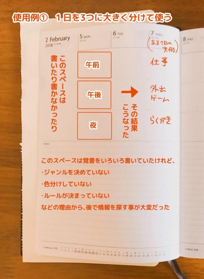 週間ノート使用例