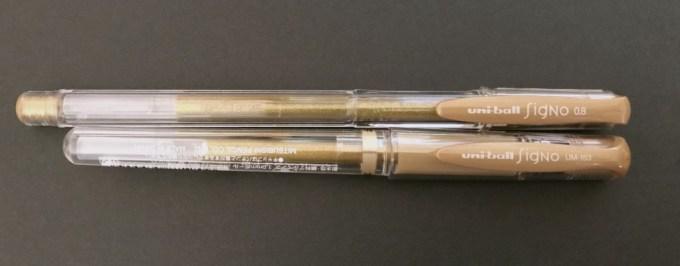 シグノの金ペン