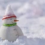 雪 雪ダルマ