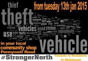 #strongernorth poster