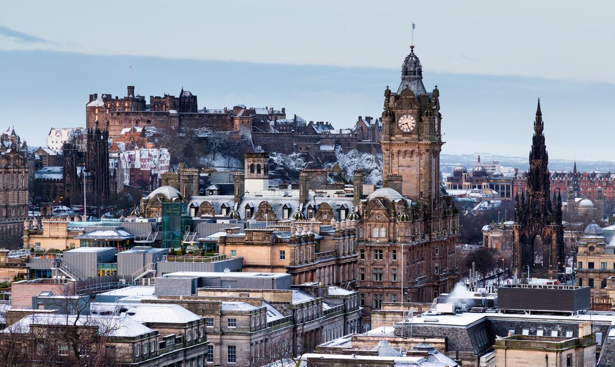 Risultati immagini per edinburgh winter
