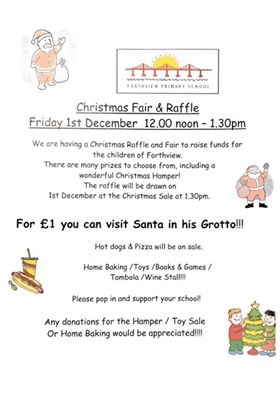 forthview xmas fair