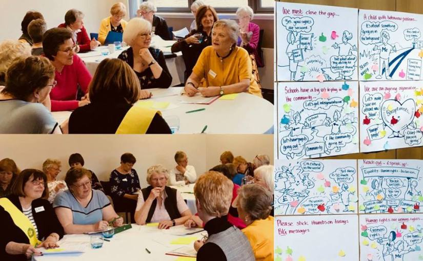 Opportunities for older people to have their say