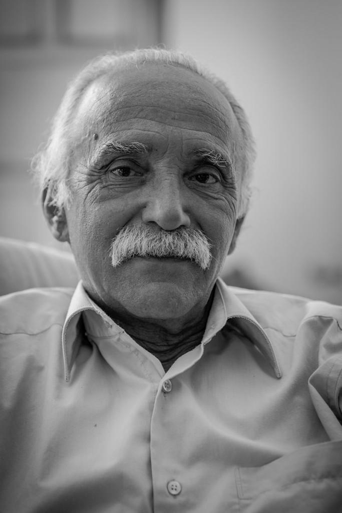 L'intellettuale e saggista Michel Warschawski (Mikado)
