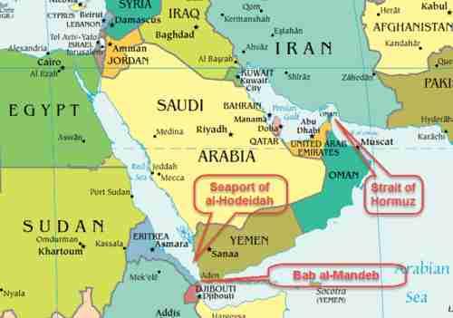 Hormuz-Bab al Mandab, due stretti per un conflitto: tutti contro l'Iran