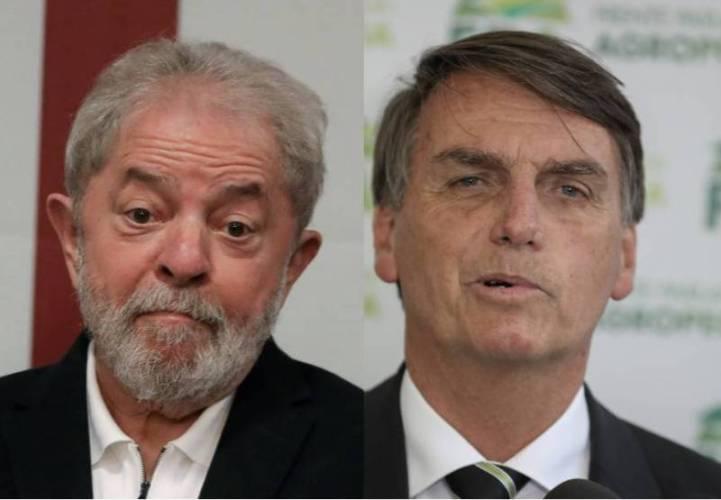 Lula e Bolsonaro empatam em potencial de voto