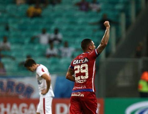 Náutico perde para o Bahia e se complica na Copa do Nordeste