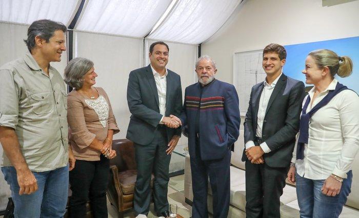 Lula, Paulo Câmara e Renata Campos selam reaproximação