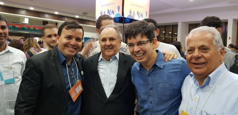 Nena Cabral participa de congresso nacional da Rede em Brasília.