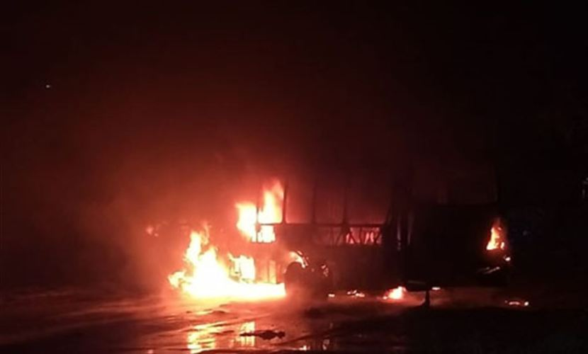 Criminosos confessam incêndio a ônibus em Paulista